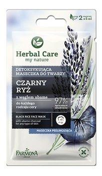 Farmona, Herbal Care, maseczka detoksykująca do twarzy Czarny Ryż, 2x5 ml-Farmona