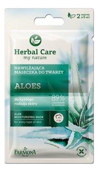 Farmona, Herbal Care, maseczka nawilżająca Aloes, 2x5 ml-Farmona