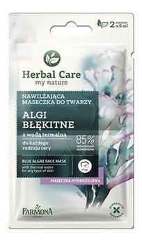 Farmona, Herbal Care, maseczka nawilżająca do twarzy Algi Błękitne, 5 ml-Farmona