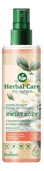Farmona Herbal Care Nawilżający Tonik do twarzy Kwiat Róży z kwasem hialuronowym 200ml-Farmona