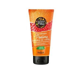 Farmona, Tutti Frutti, peeling cukrowy do ciała Pomarańcza&Truskawka, 210 g-Farmona