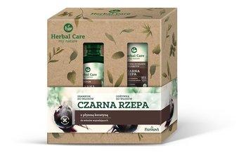 Farmona Zestaw prezentowy Herbal Care Czarna Rzepa (Szampon do włosów 330ml+Odżywka do włosów 200ml) 530ml-Farmona