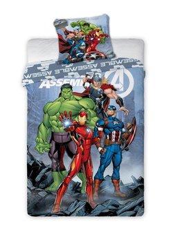 Faro, Avengers, Pościel dziecięca, 140x200, 70x90 cm-Faro