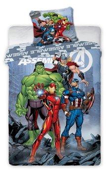 Faro, Avengers, Pościel dziecięca, 160x200 cm/70x80 cm-Faro