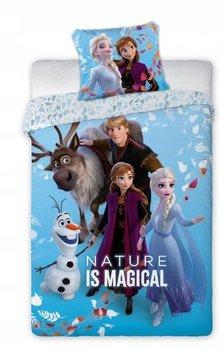 Faro, Frozen 2, Pościel dziecięca, 160x200 cm/70x80 cm-Faro