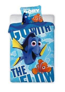 Faro, Gdzie jest Nemo, Pościel dziecięca, 160x200 cm-Faro