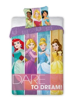 Faro, Księżniczki Disneya, Pościel dziecięca, 160x200 cm-Faro