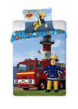 Faro, Strażak Sam, Pościel niemowlęca do łóżeczka, 100x135 cm-Faro
