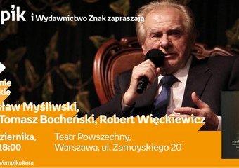 Fascynująca podróż z Wiesławem Myśliwskim
