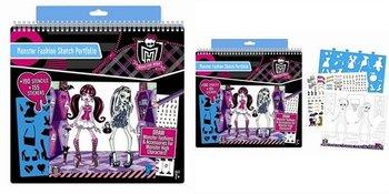Fashion Angels, Monster High, portfolio z modą-Fashion Angels