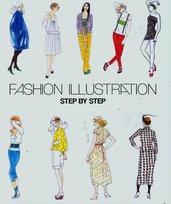 Fashion illustration. Step by step