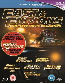 Fast & Furious 1-6/Fast & Furious 7 Sneak Peek (brak polskiej wersji językowej)-Lin Justin, Singleton John, Cohen Rob