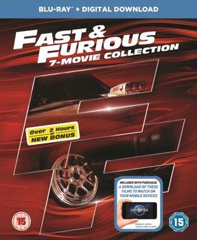 Fast & Furious: 7-movie Collection (brak polskiej wersji językowej)-Cohen Rob, Lin Justin, Singleton John, Wan James