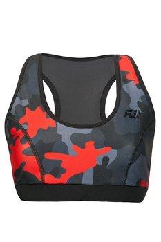 FeelJ!, Stanik sportowy, Push-up Camo Red, rozmiar L-FeelJ!