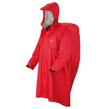 Ferrino, Płaszcz przeciwdeszczowy Trekker, czerwony, rozmiar L/XL-Ferrino