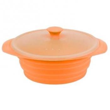 Ferrino, Składana miska sylikonowa, Contenitore Pieghevole, pomarańczowy-Ferrino
