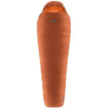 Ferrino, Śpiwór puchowy, Lightech 1000 Duvet 2020, pomarańczowy, 215x82x50cm-Ferrino