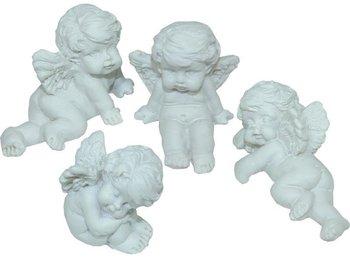Figurka Aniołek PIGMEJKA, biały, 2,5-3x3,5-4,5 cm-Pigmejka