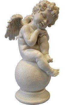 Figurka dekoracyjna Aniołek, 13x13x30 cm-Pigmejka