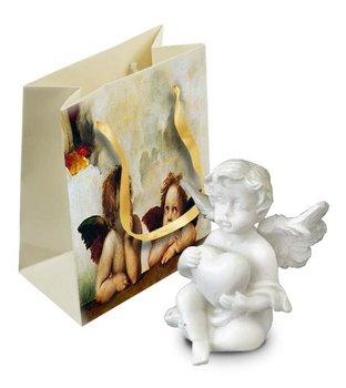 Figurka dekoracyjna w torebce Vivien Aniołek, 4x4,5 cm-Pigmejka