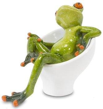 Figurka dekoracyjna Żaba, 11,5x9x13 cm-Pigmejka