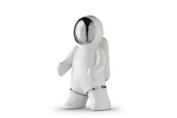 Figurka Kosmonauta VELPO biały, 11x20,5x9,5, ceramika -Konsimo