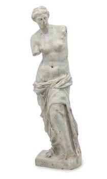 Figurka PIGMEJKA Kobieta, szara, 47x14,5,14 cm-Pigmejka