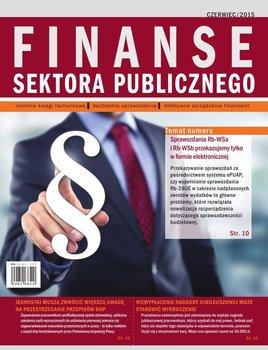 Finanse sektora publicznego. Czerwiec 2015 r.                      (ebook)