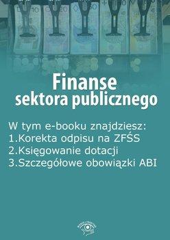 Finanse sektora publicznego. Październik 2015 r.                      (ebook)