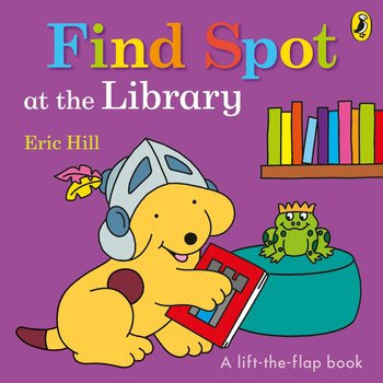 Find Spot at the Library-Hill Eric
