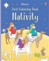 First Colouring Book Nativity-Brooks Felicity
