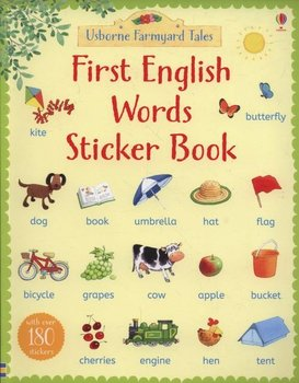 First English Words. Sticker Book -Amery Heather