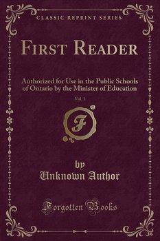 First Reader, Vol. 1-Author Unknown