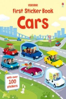 First Sticker Book Cars-Tudhope Simon