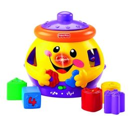 Fisher Price, Laugh and Learn, zabawka interaktywna Garnuszek na klocuszek - Fisher Price