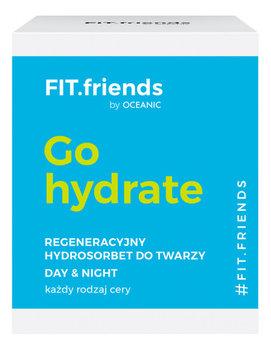 FIT.Friends, Go hydrate, regeneracyjny hydrosorbet do twarzy na dzień na noc, 50 ml-FIT.friends