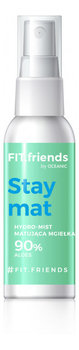 FIT.friends, Stay Mat, mgiełka matująca 90% aloes, 50 ml - FIT.friends