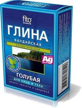 Fitocosmetics, glinka niebieska wałdajska, 100 g-Fitocosmetics