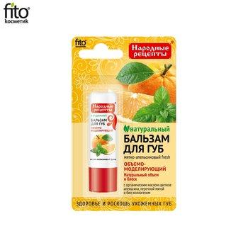 Fitocosmetics, naturalny balsam do ust Miętowo-Pomarańczowy, 4,5 g-Fitocosmetics