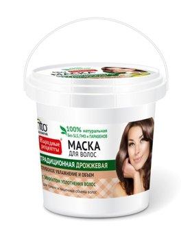 Fitocosmetics, Przepisy Ludowe, maska do włosów drożdżowa nadająca objętość, 155 ml-Fitocosmetics