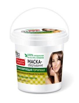 Fitocosmetics, Przepisy Ludowe, maska do włosów musztardowa stymulująca, 155 ml-Fitocosmetics