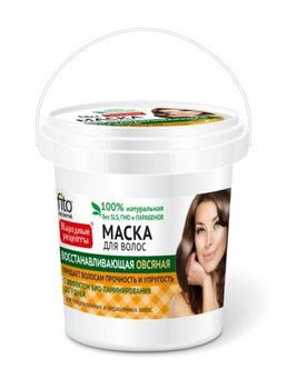 Fitocosmetics, Przepisy Ludowe, maska do włosów owsiana regenerująca, 155 ml-Fitocosmetics