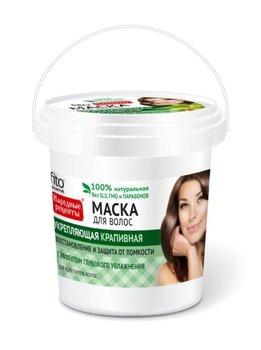Fitocosmetics, Przepisy Ludowe, maska do włosów pokrzywowa wzmacniająca, 155 ml-Fitocosmetics