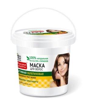 Fitocosmetics, Przepisy Ludowe, maska do włosów rokitnikowa aktywna, 155 ml-Fitocosmetics