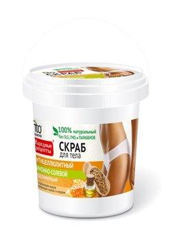 Fitocosmetics, Przepisy Ludowe, scrub do ciała cytrynowo-solny antycellulitowy, 155 ml-Fitocosmetics