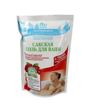 Fitocosmetics, sól do kąpieli Sakska naturalna fitoaktywna, 530 g-Fitocosmetics