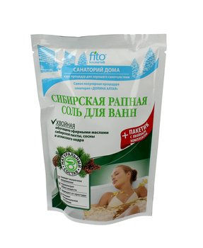 Fitocosmetics, sól do kąpieli syberyjska iglasta sosna, 530 g-Fitocosmetics