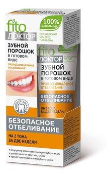 Fitokosmetik, proszek do zębów profesjonalne wybielanie w gotowej formie, 45 ml-Fitokosmetik