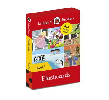 Flashcards. Ladybird Readers. Level 1-Opracowanie zbiorowe
