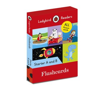 Flashcards. Ladybird Readers. Starter A and B-Opracowanie zbiorowe